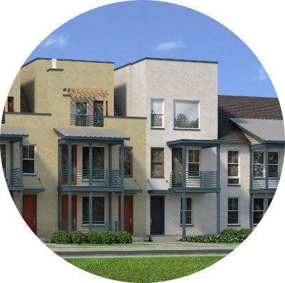 Downtown Daybreak Balconies | Daybreak Utah, South Jordan Homes for Sale