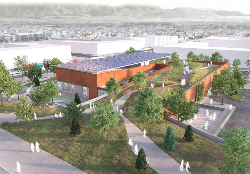 Downtown Daybreak Library | Daybreak Utah, South Jordan Homes for Sale