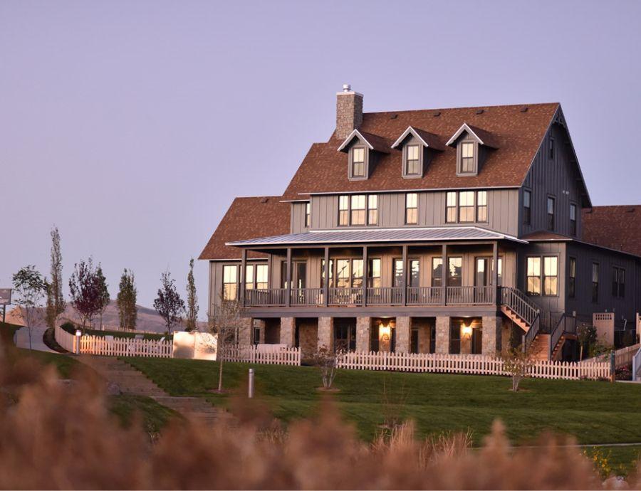 Rainey Homes Exterior at Daybreak   Utah Home Builders