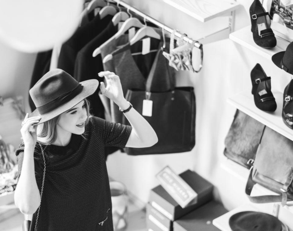 Woman Shopping at Daybreak Store   Daybreak Utah, South Jordan Master Planned Community